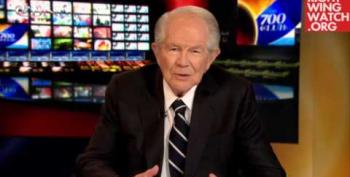 Pat Robertson Says President Obama Is Inciting 'Black-On-White Violence'