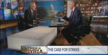 Gregory: 'How Does The President Not Act If Congress Says No' On Syria?