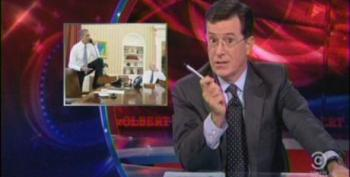Colbert Makes A Mockery Of The Wingnuts For 'Footgate'