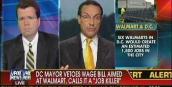 DC Mayor Runs To Fox 'News' After Vetoing 'Living Wage' Bill