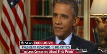 Obama Slams Critics For Focus On Style Over Substance
