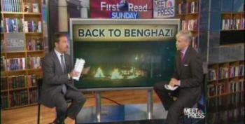 Chuck Todd: GOP Did Not Talk About Benghazi On One Year Anniversary. Wrong!