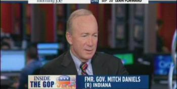 Morning Joe Brings On Mitch Daniels For Another 'Fix The Debt' Infomercial