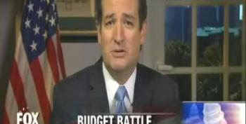 Cruz Announces Plan B For Defunding Obamacare: 'Shut Down The Military'
