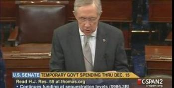 Reid Slams GOP's 'Thelma & Louise' Plan To Shut Down Government And Kill Obamacare