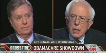Graham Offers Sanders Help 'Reforming' Tax Code In Exchange For Help 'Reforming Entitlements'
