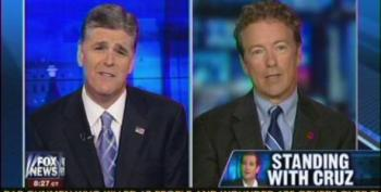 Hannity Harasses Rand Paul Over Unwillingness To Shut Down The Government