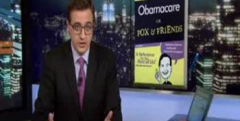 Chris Hayes Explains 'Obamacare For Fox & Friends' Dummies