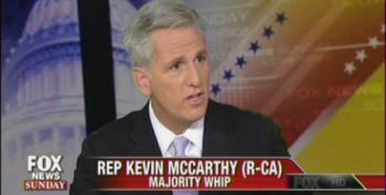 Rep. McCarthy Vows To Continue Hostage Taking Over 'Obamacare'