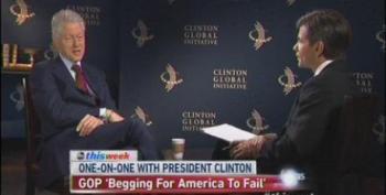 Bill Clinton: Republicans Are 'Begging For America To Fail'