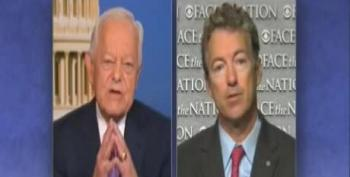 Rand Paul Gets Schooled By Bob Schieffer On Defunding Obamacare