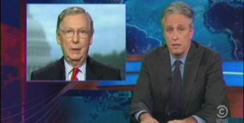 Jon Stewart Hits Republicans For Their Dangerous Game Of Chicken