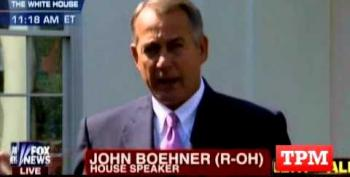 Rep. John Boehner And Eric Cantor Support Syrian Strike