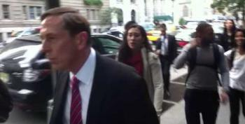 Protesters Heckle Former CIA Director David Petraeus