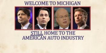 GOPers Who Would've Let Auto Industry Collapse Head To Michigan