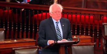 Senator Sanders Continues Relentless Flogging Of Extremist GOP