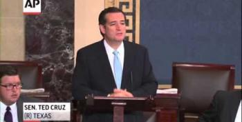 Cruz Is Unhinged: 'I Will Speak Until I Can No Longer Stand'