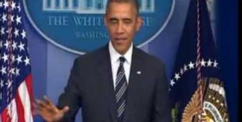 Obama: Shutdown Would 'Throw A Wrench' Into Economy