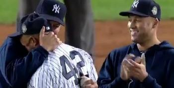 Mariano Rivera's Emotional Last Game At Yankee Stadium