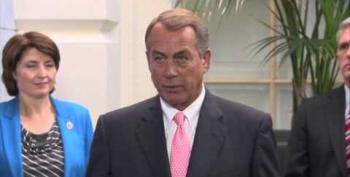 Boehner On Passing Clean Continuing Resolution: 'Not Going To Happen'