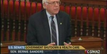 Sanders: GOP Wants Their Way And Don't Care About Repercussions