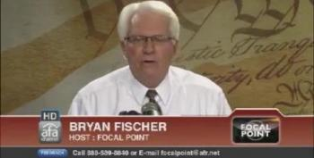 Bryan Fischer: Closing WWII Memorial Proves Obama's Soul Has A 'Heart Of Darkness'