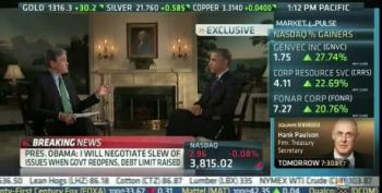 President Obama Warns Wall Street: Be Very Afraid Of House Republicans