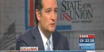 Cruz Insists That He Has 'Not Remotely' Hurt The Republican Party Brand