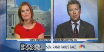 MTP Gives Tea Party Terrorist Rand Paul Platform For Unchallenged Ransom Demands
