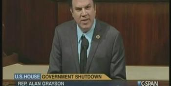 House GOP Silences Alan Grayson After He Cites Poll Comparing Congress To 'Dog Poop'