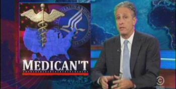 Stewart Attacks GOP Guvs For Rejecting 'Obamacare' Medicaid Expansion