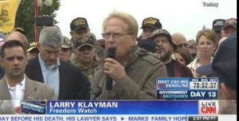 Crazy Larry Klayman Joins Melee At White House, Demands Obama Put Down Koran, Surrender