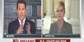 MSNBC's Thomas Roberts Grills Blackburn: 'Do You Hate Obamacare More Than You Love Your Country?'