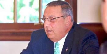 Maine's Teabagger Gov. Paul LePage Is Concerned Millionaires Are Endangered