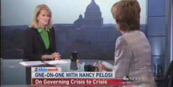 Martha Raddatz Badgers Nancy Pelosi About Being Mean To Republicans