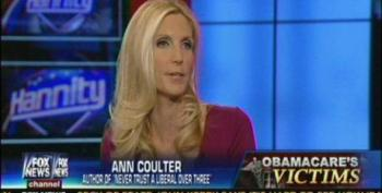 Coulter 'Proud Of Republicans' For 'Magnificent, Run Beautifully' Government Shutdown