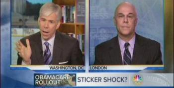 Florida Blue CEO Refuses To Play Along With David Gregory's Concern Trolling