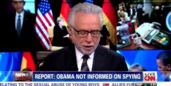 Wolf Blitzer Isn't President, But He Plays One On TV