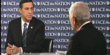 Rep. Issa Repeats Debunked Lies About ACA Website; Bob Schieffer Does Nada