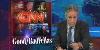 Jon Stewart Hits CNN For 'Dumbing Down' The News