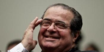 Antonin Scalia: The Devil Makes Pigs Run Off Cliffs