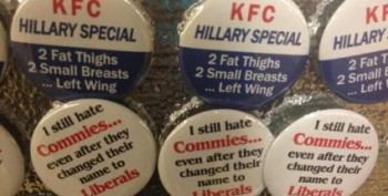 GOP Convention Features Disgusting Anti-Hillary Buttons