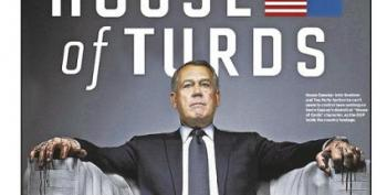 'House Of Turds': NY Daily News Mocks John Boehner