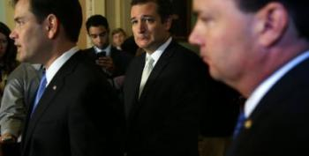 Closed-Door GOP Meeting With Cruz Turned Into 'Lynch Mob'