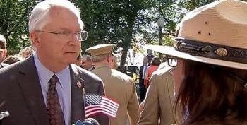 Republican Congressman Scolds Park Ranger Over Closed WWII Memorial