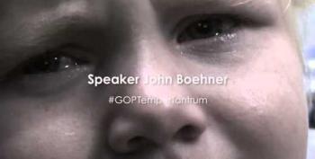 Speaker John Boehner: Temper Tantrum