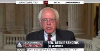 Sen. Sanders: Koch Brothers Plotted Shutdown 'Day After Obama Re-Elected'