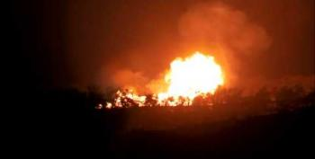 No Injuries Reported In Oklahoma Pipeline Explosion