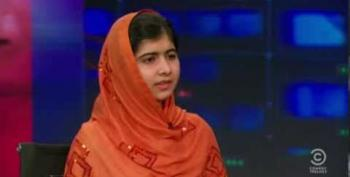 Malala Yousafzai: 'You Must Fight Others Through Peace, Dialogue, Education'
