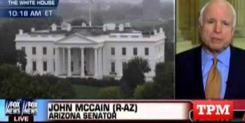 Senator John McCain Tells Fox News: No, The Shutdown Is The GOP's Fault